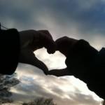 Herz Hände Foto von J. Fehler