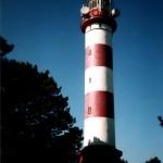 Foto eines Leuchtturmes Kurische Nehrung (heute Litauen) von Andreas Schrock