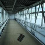 """Foto einer Brücke mit dem Titel: """"gerade aus"""" von Gerhard Jaeger alias """"Erwin von der Panke"""