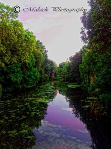 Malack Silas: Foto Am Kanal in Königs Wusterhausen