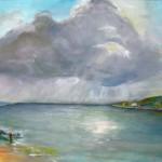 """Gerhard Jaeger Bild """"Am Meer"""""""