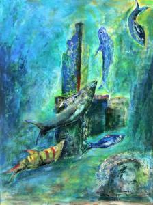 """Gerhard Jaeger: Bild """"Fische 18"""""""