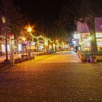 Malack Kelvin Olteo Silas - Foto: Bahnhofstraße in Königs Wusterhausen - beautiful at night!