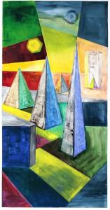"Gerhard Jaeger: Bild ""Pyramiden"""