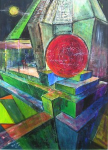 "Gerhard Jaeger:Bild ""Roter Punkt 49"""
