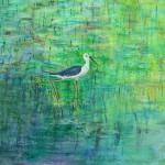 "Gerhard Jaeger: Bild ""Storch"""