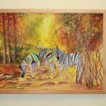 Malack Kelvin Olteo Silas: mit einem Bild von Zebras
