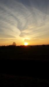 Liane Fehler : Sonnenuntergang