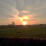 Sonnenuntergang Glashütte - Foto Liane Fehler