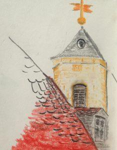 Zeichnung 20919-08 Studie Andreas Schrock
